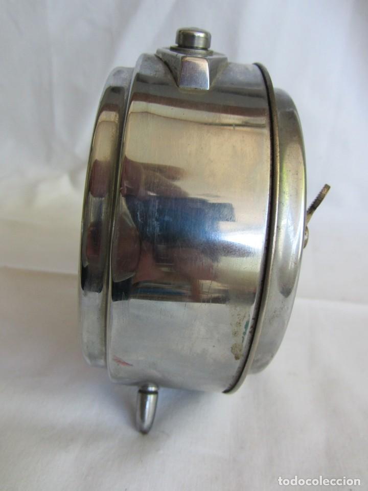 Despertadores antiguos: Reloj espertador Jughans fucnionado - Foto 8 - 262918495
