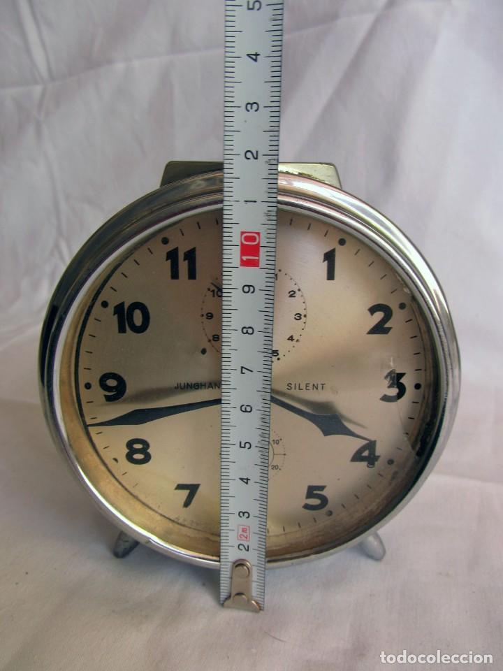 Despertadores antiguos: Reloj espertador Jughans fucnionado - Foto 11 - 262918495