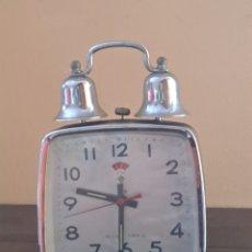 Despertadores antiguos: RELOJ DESPERTADORES. Lote 263075425