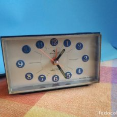 Despertadores antiguos: RELOJ SILICON CLOCK 4 JEWELS TOKYO TOKEI. Lote 263288575