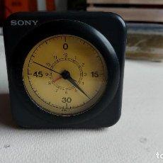 Despertadores antiguos: T-917.- RADIO RELOJ DESPESTARDOR , SONY.- QUARTZ, LA RADIO FUNCIONA EL RELOJ TAMBIEN LA ALARMA. Lote 263654220