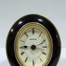 Despertadores antiguos: EGALER RELOJ DESPERTADOR QUARTZ. WEST GERMANY. ANTIGUO. FUNCIONA PERFECTO.. Lote 264323752