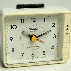 Despertadores antigos: ANTIGUO CASIO QUARTZ RELOJ DESPERTADOR. Lote 264978679