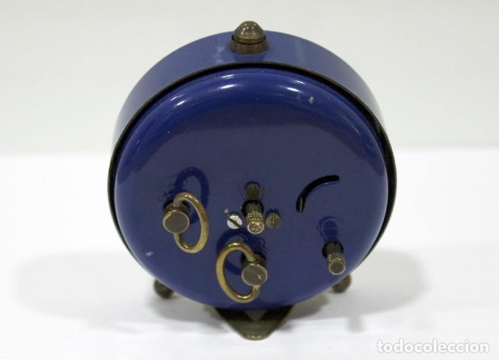 Despertadores antiguos: Reloj BLESSING - WEST GERMANY. FUNCIONA PERFECTO. RARO! - Foto 6 - 265217049