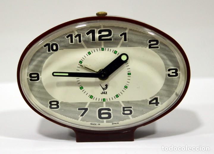 RELOJ DESPERTADOR JAZ - MADE IN SPAIN. COMO NUEVO. (Relojes - Relojes Despertadores)