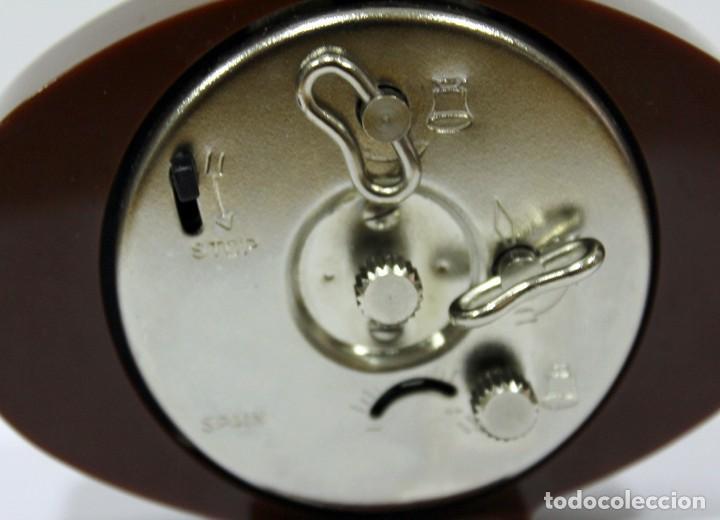 Despertadores antiguos: Reloj despertador JAZ - Made in Spain. Como nuevo. - Foto 6 - 265450289