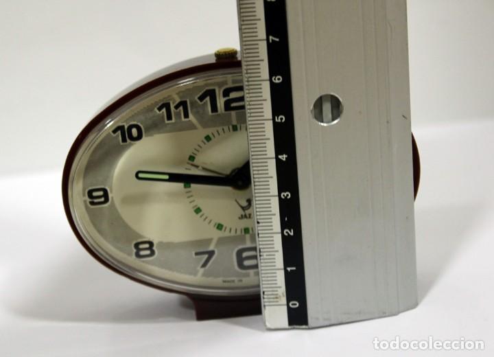 Despertadores antiguos: Reloj despertador JAZ - Made in Spain. Como nuevo. - Foto 9 - 265450289