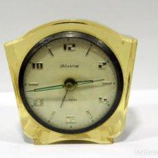 Despertadores antiguos: RELOJ BLESSING DE METACRILATO. WEST GERMANY. RARO!. Lote 267623344