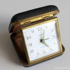 Despertadores antigos: RELOJ DESPERTADOR EUROPA - 2 JEWELS AÑOS 60 ALEMANIA - FUNCIONA. Lote 267773059