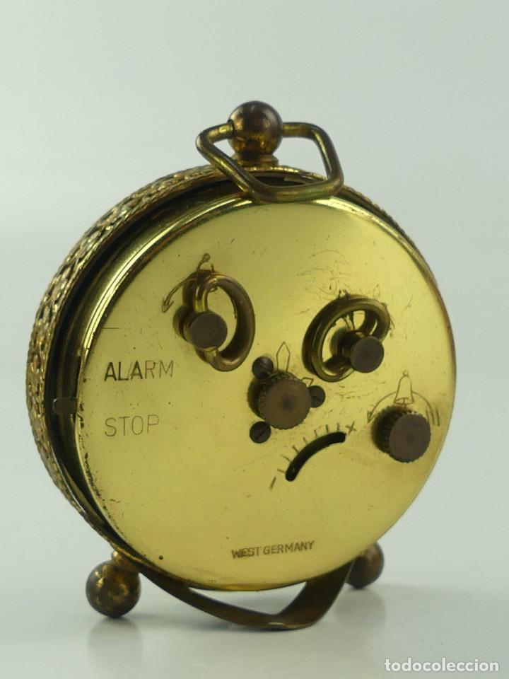 Despertadores antiguos: VINTAGE RELOJ DESPERTADOR A CUERDA MARCA BLESSING ALEMANIA OESTE - Foto 5 - 268810429