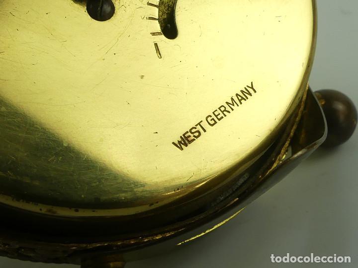 Despertadores antiguos: VINTAGE RELOJ DESPERTADOR A CUERDA MARCA BLESSING ALEMANIA OESTE - Foto 13 - 268810429