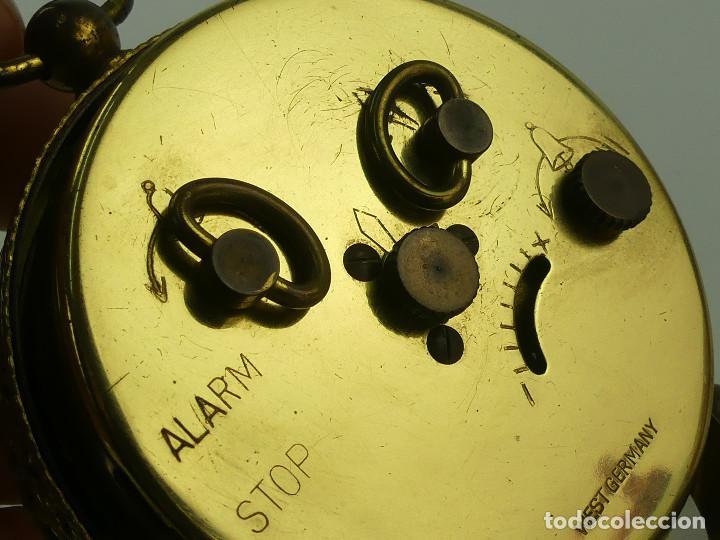 Despertadores antiguos: VINTAGE RELOJ DESPERTADOR A CUERDA MARCA BLESSING ALEMANIA OESTE - Foto 14 - 268810429