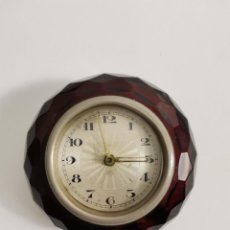 Despertadores antiguos: DESPERTADOR AÑOS 30. CAJA DE PASTA. FUNCIONANDO.. Lote 269094098