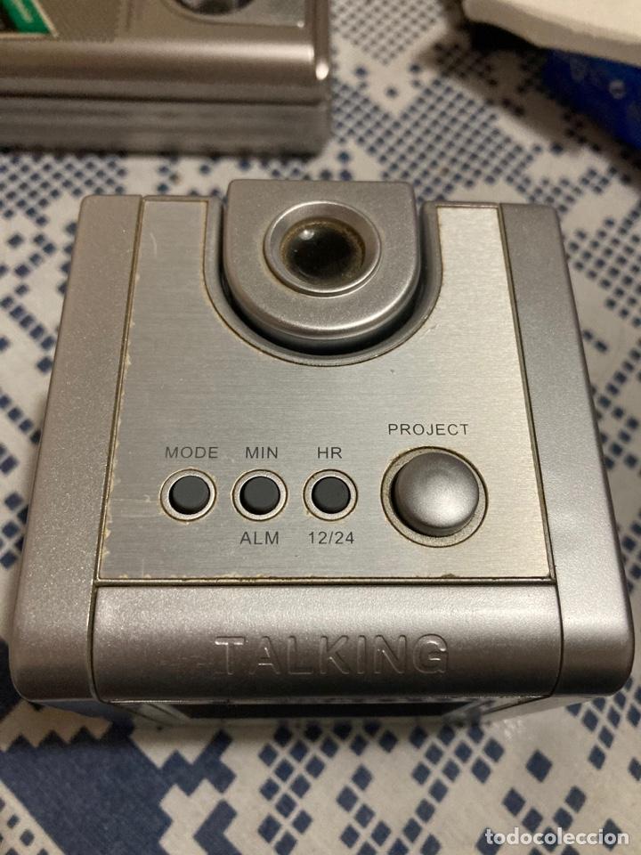 Despertadores antiguos: Reloj Despertador con proyector hora y habla la hora - Foto 2 - 269489623
