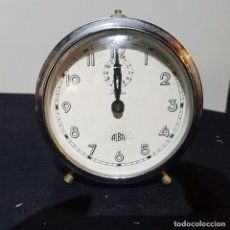 Despertadores antiguos: RELOJ DESPERTADOR DE MESITA PARA REPARAR O PIEZAS. Lote 273277703