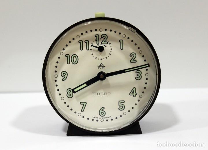 RELOJ DESPERTADOR PETER. MADE IN GERMANY. (Relojes - Relojes Despertadores)