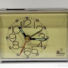Despertadores antiguos: RELOJ DESPERTADOR MICRO ELECTRONIC.. Lote 275109748