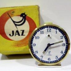 Despertadores antiguos: RELOJ DESPERTADOR JAZ - CRESCENDO ... NUEVO EN SU CAJA.. Lote 275292138