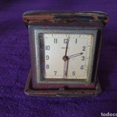 Despertadores antiguos: ANTIGUO RELOJ DESPERTADOR DE CUERDA LOOPING. Lote 275774828