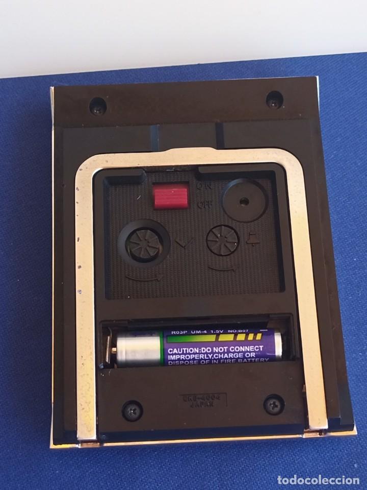 Despertadores antiguos: Reloj de mesa de la marca Citizen, vintage, años 70-1980,con alarma - Foto 4 - 275782913