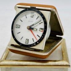 Despertadores antigos: RELOJ DESPERTADOR ALEMÁN VINTAGE. Lote 276426103