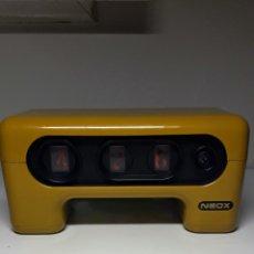 Despertadores antiguos: RELOJ HORARIO HORIZONTAL. Lote 277208038