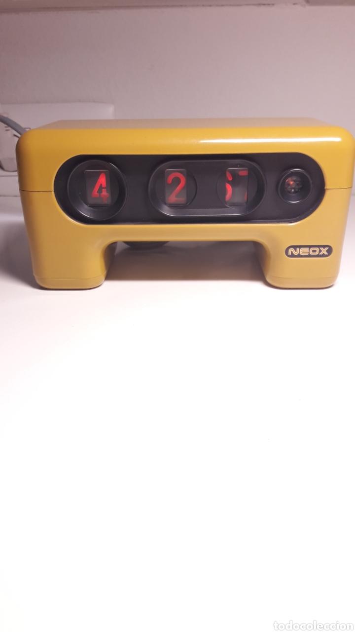 Despertadores antiguos: Reloj horario horizontal - Foto 3 - 277208038
