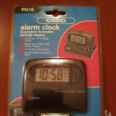Despertadores antiguos: CASIO ALARMA CLOCK PQ12 VINTAGE (PRECINTADO). Lote 288673408