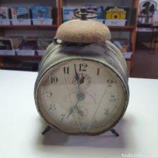 Despertadores antigos: DESPERTADOR DE UNA CAMPANA, EL FOTOGRAFIADO.. Lote 277712293