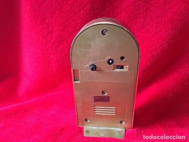 Despertadores antiguos: RELOJ RHYTHM QUARTZ ALARM TERMOMETRO - Foto 4 - 278689618