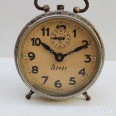 Despertadores antiguos: ANTIGUO DESPERTADOR BOXER - FUNCIONA.. Lote 278804873
