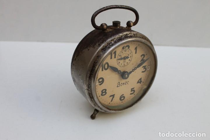Despertadores antiguos: ANTIGUO DESPERTADOR BOXER - FUNCIONA. - Foto 2 - 278804873