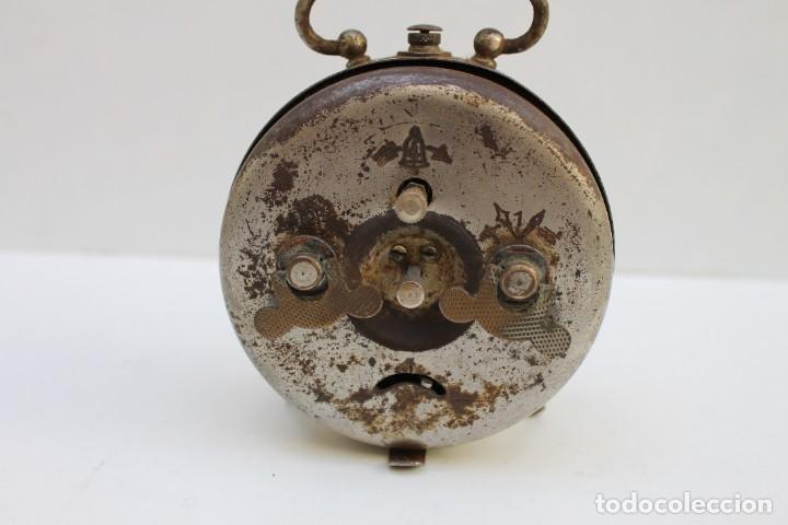 Despertadores antiguos: ANTIGUO DESPERTADOR BOXER - FUNCIONA. - Foto 3 - 278804873