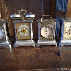 Despertadores antiguos: RELOJES DE CARRUAJE. Lote 278817328