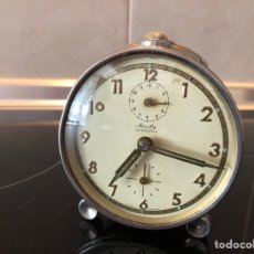 Despertadores antiguos: RELOJ DESPERTADOR ANTIGUO MAUTHE CUERDA. Lote 279440653