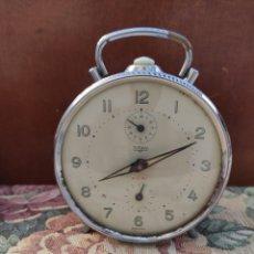 Despertadores antiguos: RELOJ DESPERTADOR TITAN ESPAÑA FUNCIONA. Lote 279442988