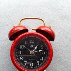 Despertadores antiguos: DESPERTADOR MARCA INTI QUARTZ.. Lote 279446183