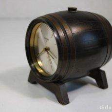 Despertadores antiguos: TONEL RELOJ DESPERTADOR SWIZA 8. Lote 284542713