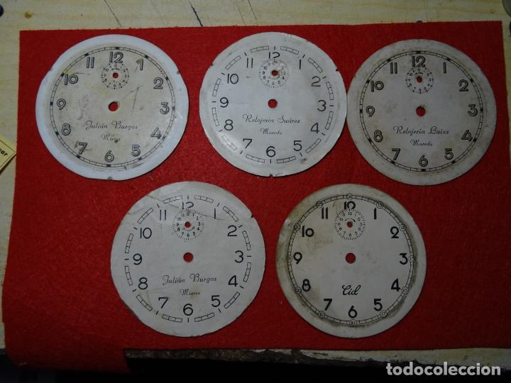 LOTE 5 ESFERAS DESPERTADOR. MIERES.MOREDA. CID (Relojes - Relojes Despertadores)