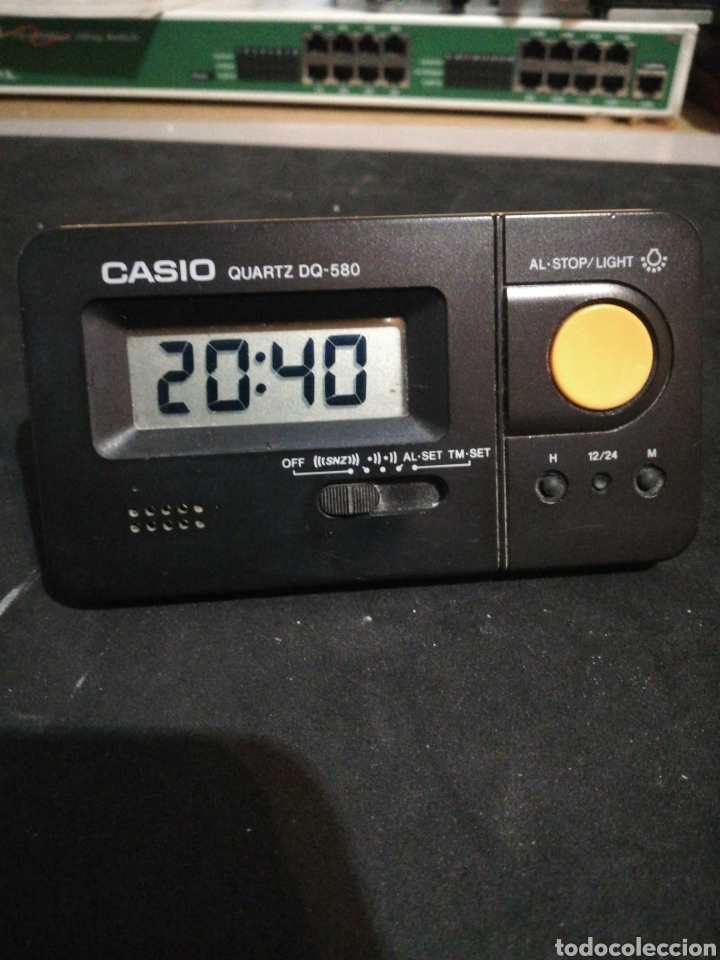 RELOJ DESPERTADOR CASIO DQ-580 10X6X6 (Relojes - Relojes Despertadores)