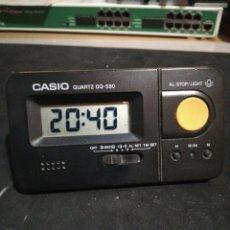 Réveils anciens: RELOJ DESPERTADOR CASIO DQ-580 10X6X6. Lote 287787703