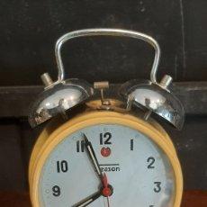 Despertadores antiguos: RELOJ DESPERTADOR ZEASON MADE IN CHINA. Lote 287857863