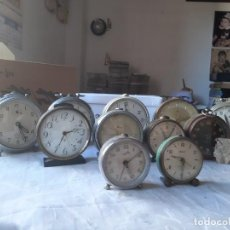 Despertadores antiguos: DESPERTADORES ANTIGUOS. Lote 287928388