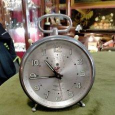 Despertadores antiguos: RELOJ DESPERTADOR WEHRLE COMMANDER REF-3903. Lote 288036693