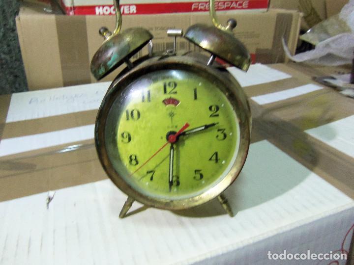 RELOJ DESPERTADOR POLARIS (Relojes - Relojes Despertadores)