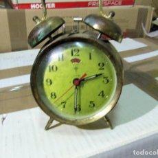 Despertadores antiguos: RELOJ DESPERTADOR POLARIS. Lote 288047128