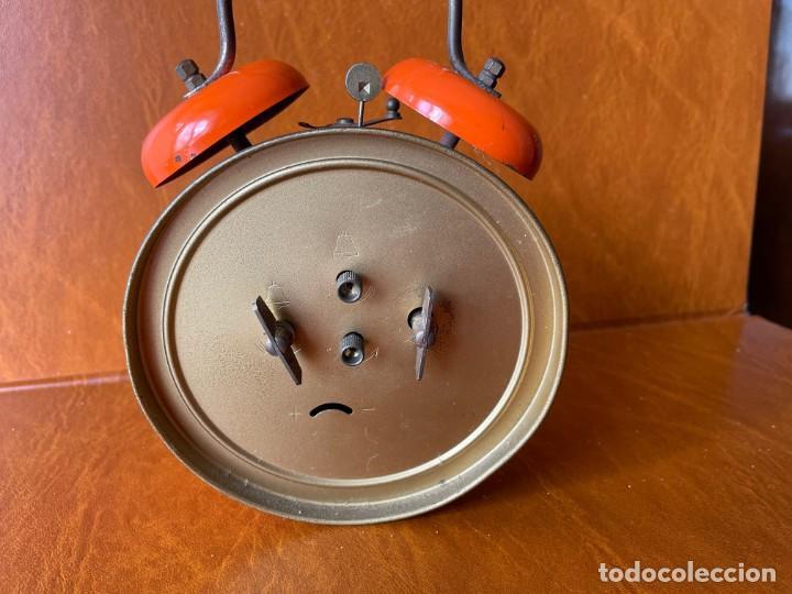 Despertadores antiguos: ANTIGUO Y CURIOSO RELOJ DESPERTADOR CON ANIMACIÓN - Foto 4 - 288130883