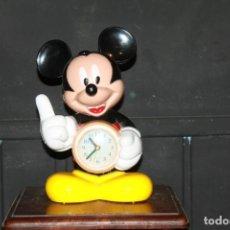 Despertadores antiguos: RELOJ DEPERTADOR MICKEY MOUSE. Lote 288891848