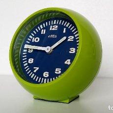 Despertadores antiguos: RELOJ DESPERTADOR EMES VINTAGE. Lote 289607153