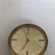 Despertadores antigos: RELOJ DESPERTADOR CYMA EN FUNCIONAMIENTO. Lote 291246443
